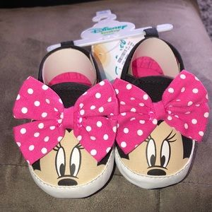 Disney Baby Girl Minnie Mouse Sneakers!!